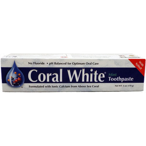 Coral White Mint toothpaste