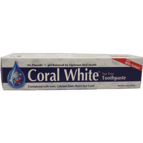 Coral White Tea Tree Toothpaste